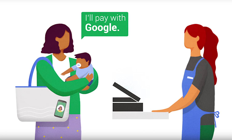 Google kicks off a public pilot for Hands Free mobile payments