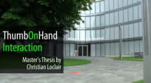 Researcher proposes Thumb on Hand gestures, no touchscreen necessary (video)