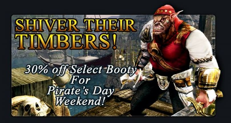 Turbine celebrates Talk Like a Pirate Day in DDO and LotRO