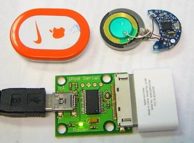 Nike+iPod gets repurposed as wireless key fob