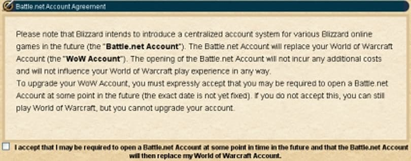 Blizzard prepares for switch to Battle.net accounts
