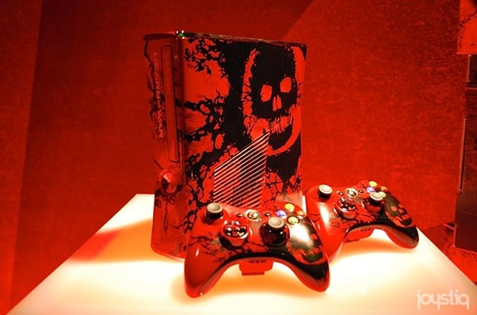 Gears of War limited edition Xbox 360 bundle on Sept. 20 for $399; controller for $59.99 on August 11