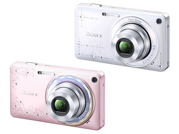 With Sony's bedazzling DSC-W350D camera, the W is for Woman