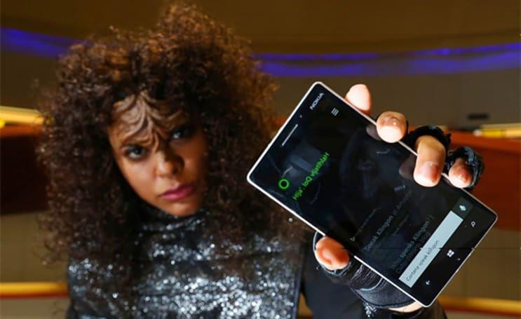 Microsoft turns Cortana into a Klingon-speaking Starfleet officer