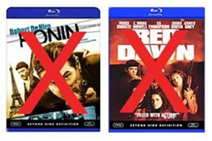 MGM takes 'Ronin' and 'Red Dawn' off the table for 2007