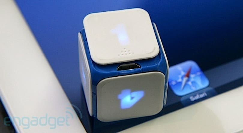 DICE+ digital gaming cubes now shipping