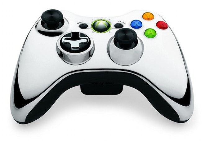 Microsoft announces special edition Chrome Series Xbox 360 controllers