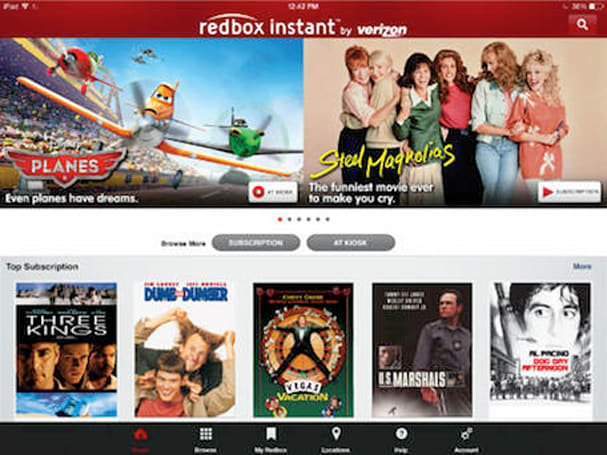 Redbox Instant now supports AirPlay streaming