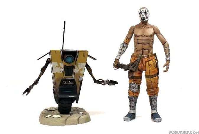 Borderlands action figures from NECA are looking nice-a