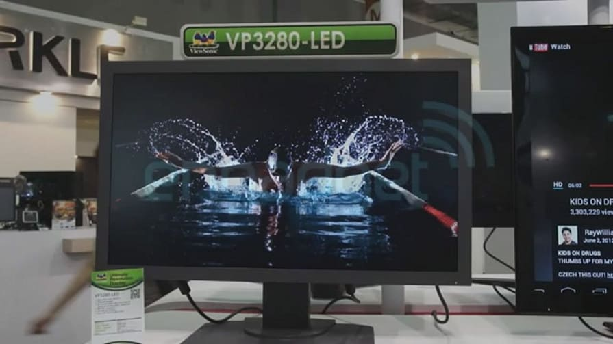 ViewSonic VP3280-LED 31.5-Inch 4K Monitor Hands-On