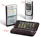 Nokia E61i, E65 get official in the US