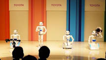 Video: Toyota's robo-quartet makes Kerouac cry