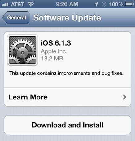 iOS 6.1.3 screen lock bypass uncovered (video)