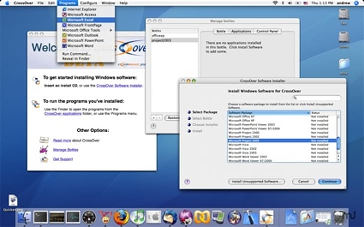 Release Candidate 2 of CrossOver Mac