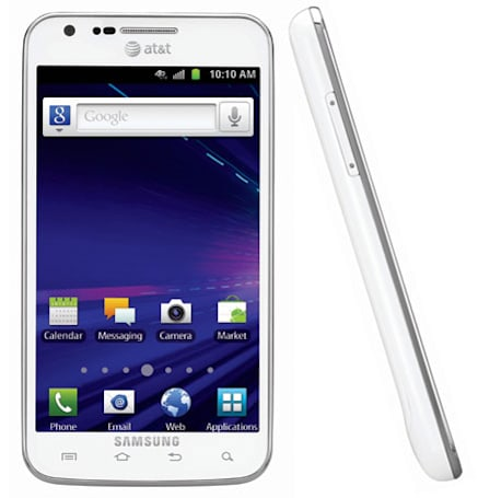 Galaxy S II Skyrocket rides in on a white horse for AT&T on December 4th