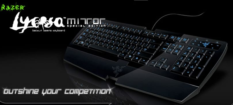 Engadget's recession antidote: win a Razer Lycosa Mirror!