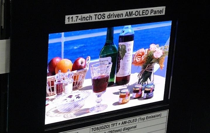Sony's new 11.7-inch OLED panel boasts better colors, longer lifespan