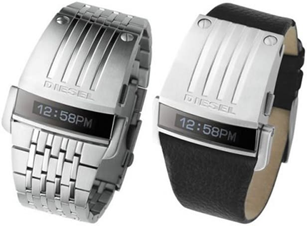 Diesel offers up duo of OLED-packin' watches
