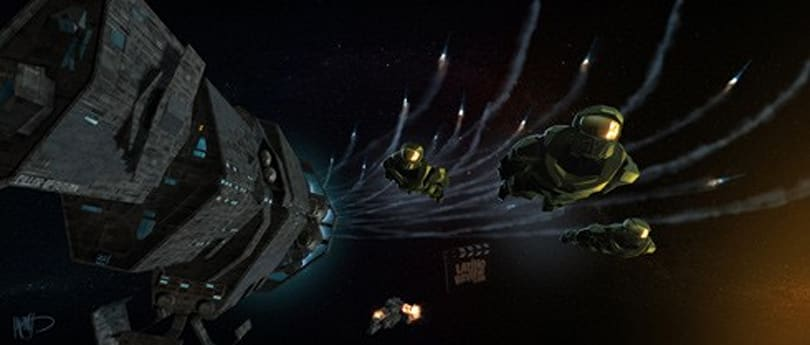Rumor: Concept art from Halo: Fall of Reach movie