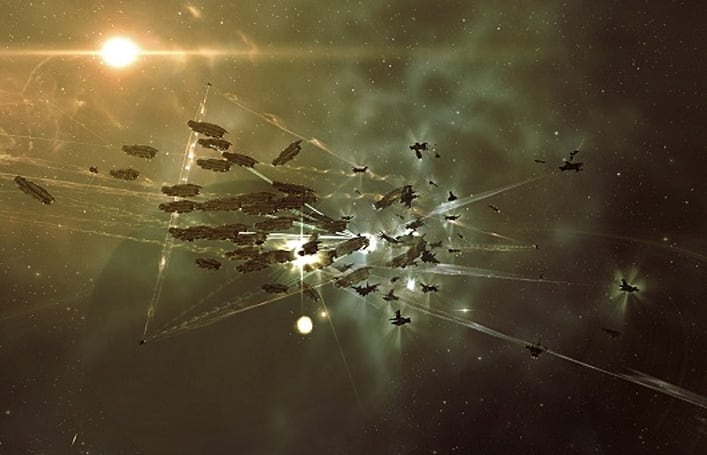 EVE Online breaks the 450k subscriber mark