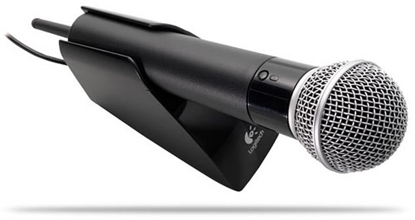 Logitech intros Cordless Vantage Microphone for Xbox 360 and PS2 / PS3