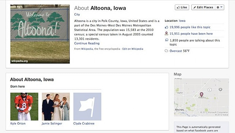 Facebook building $1.5 billion data center in Altoona, Iowa