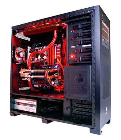 Refreshed CyberPower Black Mamba gaming rig: downright awesome (for rich people)
