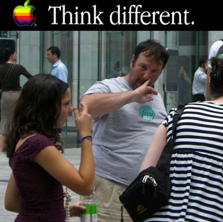"""iPhone protest vid uses Apple's own words to support the """"crazy ones"""""""