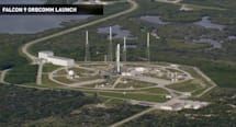 Rocket recycling: watch SpaceX's Falcon 9 fly back to Earth