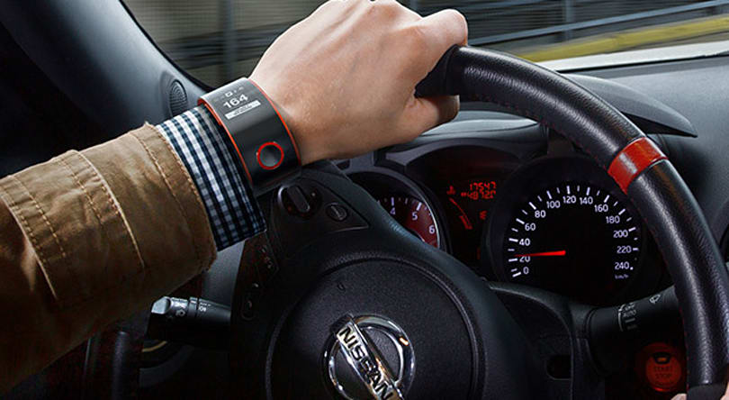 Nissan surprises us all with smartwatch concept for Nismo cars (video)