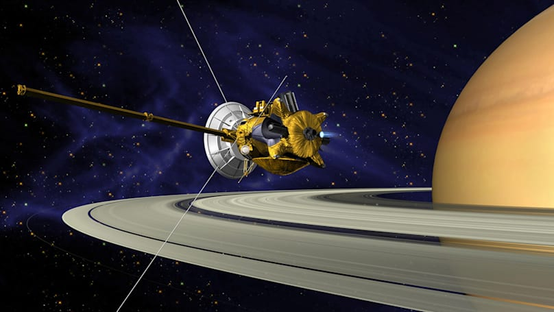 Cassini starts preparing for its sensational grand finale