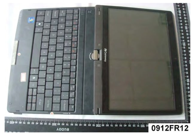 Gateway EC18T / Acer Aspire 1420P convertible tablet hits the FCC