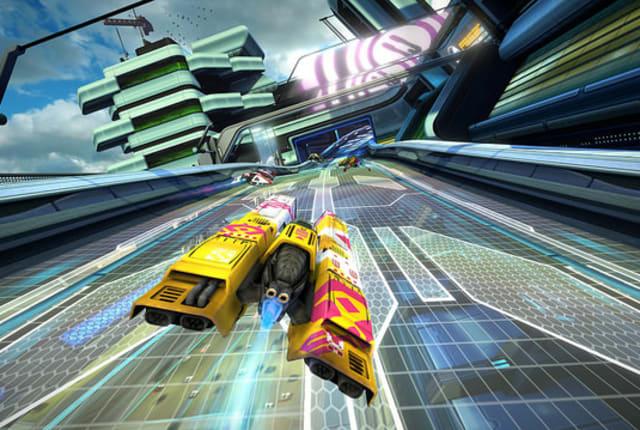 PS4で反重力レースゲームwipEout復活!過去3作リマスター版『ワイプアウトOmegaコレクション』来春発売