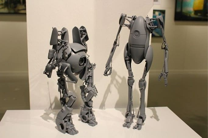 ThreeA Toys unveils prototype Portal 2 and Metal Gear Solid 2 statuettes