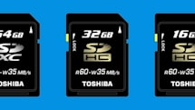Toshiba demonstrates 64GB SDXC, pledges spring release
