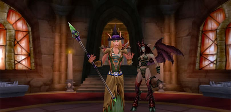 Blood Pact: leveling a warlock, 10 to 40