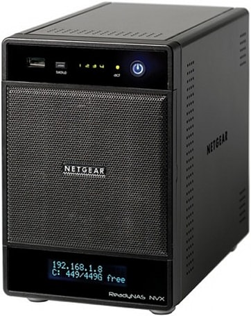 Netgear rolls out 4-bay ReadyNAS NVX