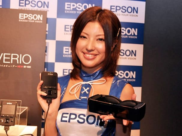 Epson Moverio BT-100 3D goggles now shipping in the U.S. for $699