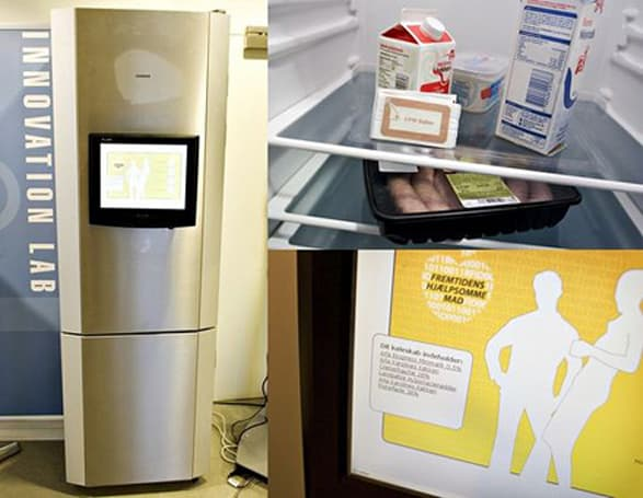 Siemens refrigerator gets hacked, adds RFID communication