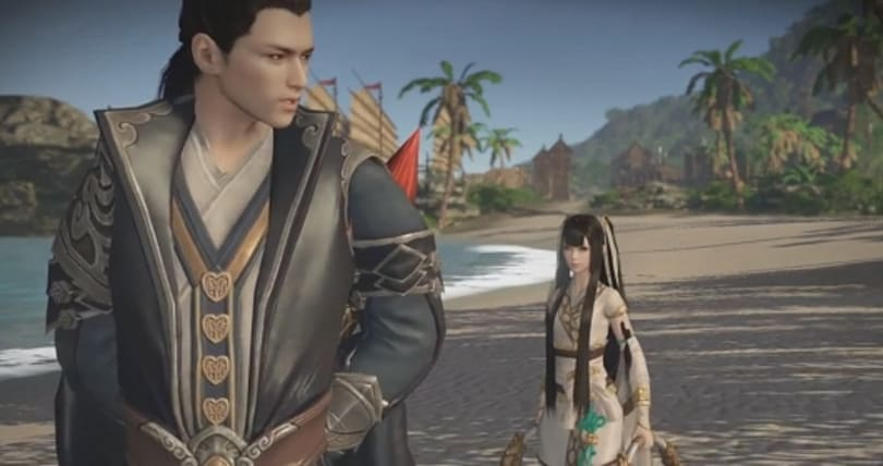 A preview of the third closed beta for wuxia MMO Moonlight Blade
