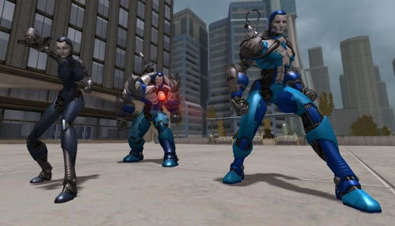 Share and enjoy in City of Heroes with the Praetorian Clockwork!