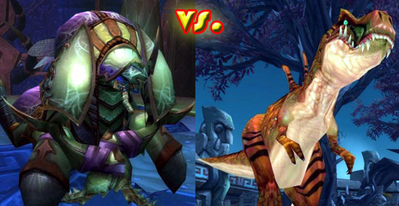 Two Bosses Enter: Anub'Arak vs. King Dred