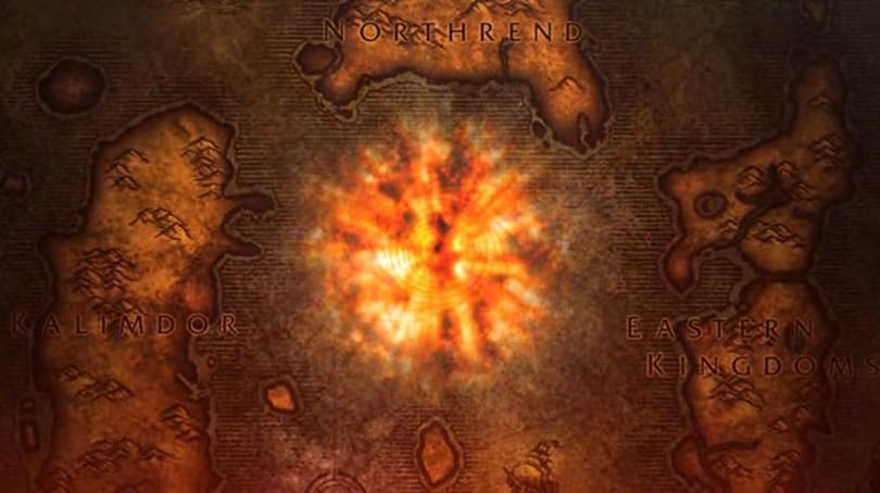 What does Blizzard have planned for a Cataclysm in-game launch event?