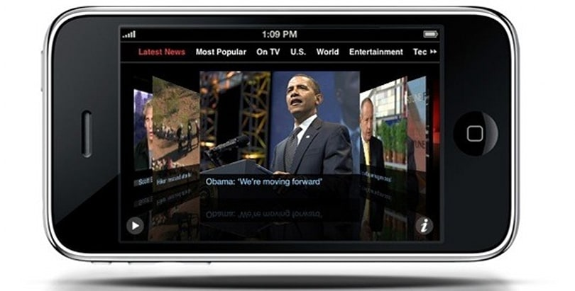 """CNN: Our iPhone app is """"not a hobby"""""""