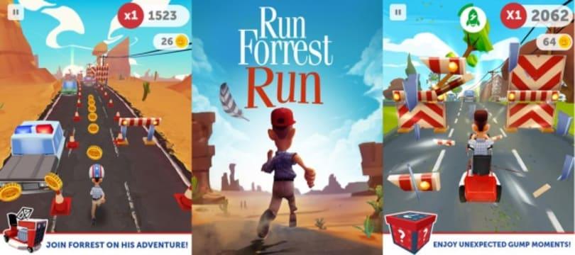 Run, Forrest! Run to iTunes!