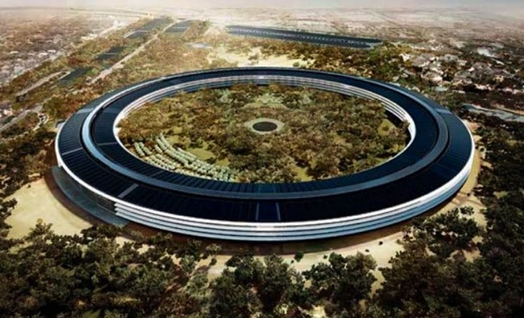 Cupertino posts tweaked Apple spaceship campus plans as launch risks slipping to 2016