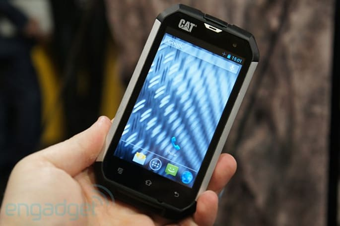 Caterpillar CAT B15 rugged smartphone hands-on