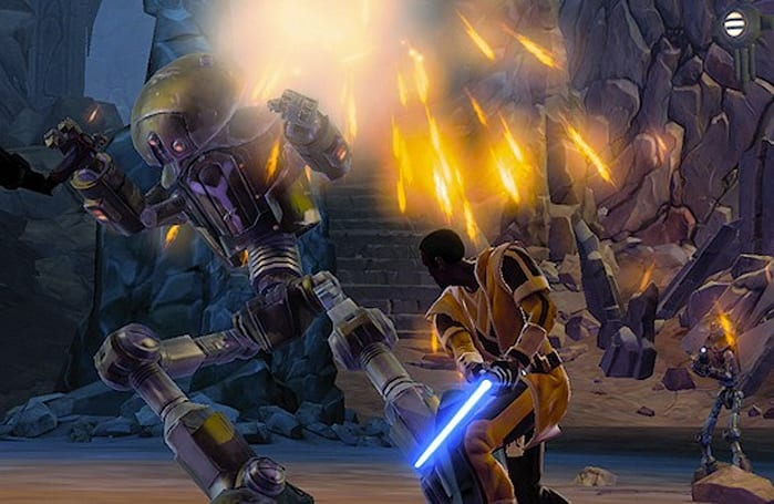 Hands-on with SWTOR's Jedi Knight on Tython
