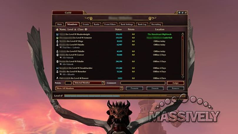 The Daily Grind: Which MMO has the best guild management tools?