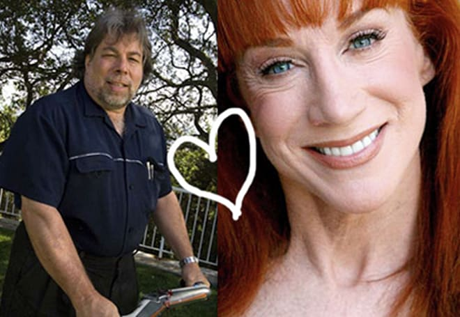 Woz is dating Kathy Griffin